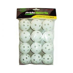 12-Pack Practice Wiffle Golf Balls (Pack of 24) by Caddyshack Golf