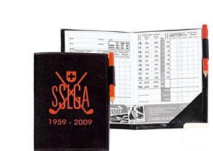 50 Golf scoremappen avec son imprimé golf scoretaschen et motif au choix