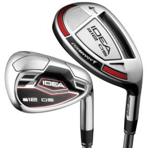 Adams Golf Idea A12OS 7-GW 4,5,6 Hybrid (Right Hand, Graphite, Stiff Flex) by Adams Golf