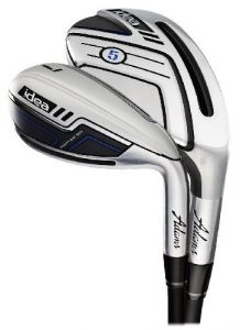 Adams Golf Men's New Idea Iron Set, Right Hand, Graphite, Senior Flex, 3-5H, 6-PW by Adams Golf