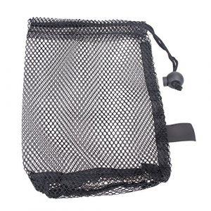 Broadroot 1pcs Golf Balle de tennis de transport support de stockage de filet en nylon filets Sac pochette, 1
