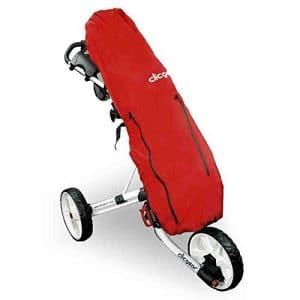 Clicgear Trolley avec housse de pluie Rouge