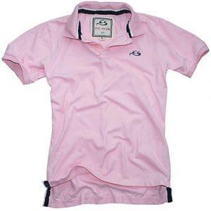 Cox Swain Vintage Polo Shirt T-Shirt, Colour: Pink, Size: L