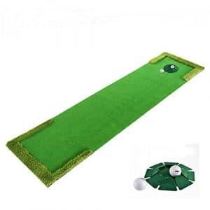 DYF gazon synthétique Golf cadeau intérieur Push Appareil pratique Orbit, 0.58* 3M