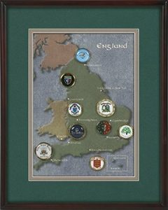 England Ball Marker Collection by Golf Supports Our Troops