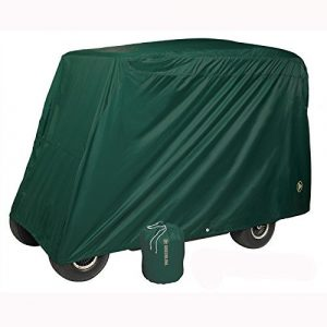 Greenline 4 Passenger Golf Car Cover (Green, 106×47.5×62-Inch) by Greenline Tournament Storage Covers