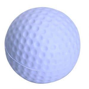Kingwin 41mm Golf Ballon d'entraînement en mousse souple Practise Balle de golf Accessoires–Blanc