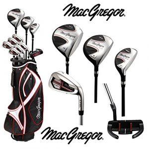 MacGregor Homme cg1900x Ensemble (Graphite) pour homme HR Chariot Sac pour homme HR Sac pour chariot de golf