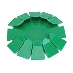Nalmatoionme Portable Intérieur Plastique All-direction Golf Putting Cup Practise (Vert)