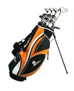 Palm Springs Golf VISA LEFTY ALL GRAPHITE Hybrid Club Set & Stand Bag by Palm Springs