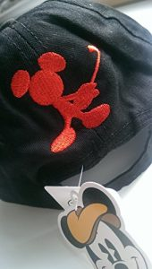 Pour enfants Mickey Mouse-Casquette de Golf-Noir