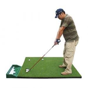 practice de golf pad 3D swing pratique