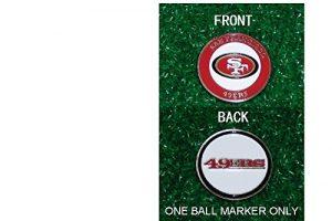 San Fransisco 49ers NFL double face Boule Unique marqueur uniquement