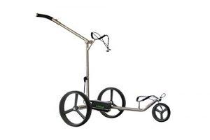 Tour Made rT – 930LI lithium électrique en acier inoxydable avec chariot de golf tour fabriqué en allemagne