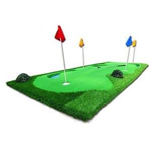 TT Pratique de putter de couverture de pratique de golf de lac simulée de tapis de golf 150 * 375cm