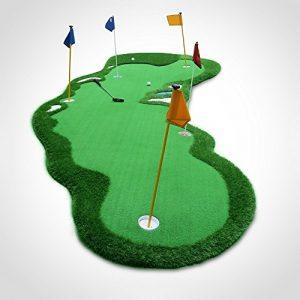 TT Tapis de pratique de golf Outdoor Swing Pratique Couverture Simulation Sandpit Golf Practice Couverture 200 * 500 cm