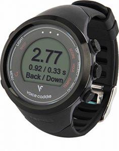 Voice Caddie T1 Montre GPS pour golf, T1 GPS, noir, n/a