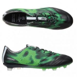 ADIDAS Chaussures Football F50 Adizero Terrain Sec FG Leather Homme – taille 42 2/3