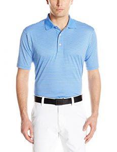 Alister Mackenzie pour homme Dean à rayures Golf pour homme, Homme, Bleu regatta