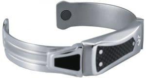 Avengers Iron Man Magtitan Neo Legend Bracelet (fibre de carbone/titane), Homme, Carbon Fiber/Titanium