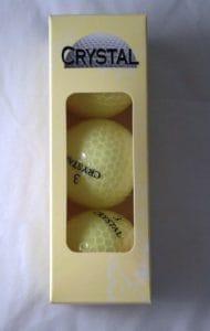 Boules v-golf en cristal 3Manches à Citron