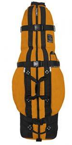 Club Glove Last Bag Travelbag Yellow – Sac de voyage roulante golf couleur jaune