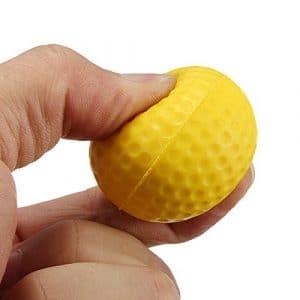 """Entra""""nement sportif Golf Practice Žlastique en mousse PU Balls"""
