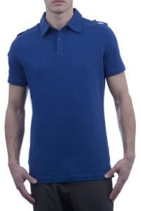 Glenmuir Golf – 100% Coton Polo Golf – Uni – Homme-Maelstrom-Large