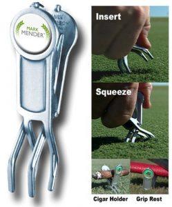 Mark Mender Multi-purpose Golf & Divot Tool by Mark Mender
