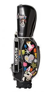 Mu Sports pour femme Sac de golf chariot à roulettes, 703q1100, femme, noir