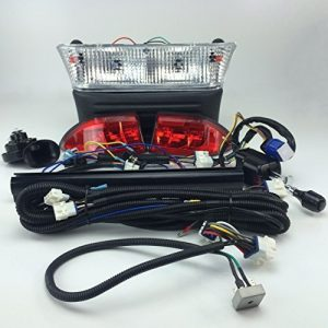 NEW RecPro CLUB CAR PRECEDENT GAS GOLF CART DELUXE / ULTIMATE LIGHT KIT W/ TURN SIGNALS 2008.5 & UP by RecPro Golf Cart Products