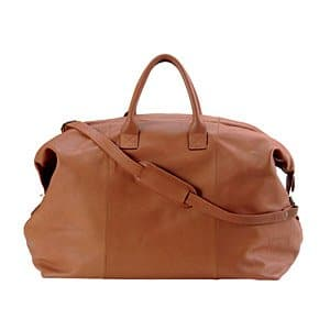 Royce en cuir 695-tan-3 Euro Traveler – Marron clair