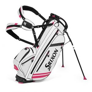 Srixon 2015 ZFOUR Stand Bag, White/Pink by Cleveland Golf