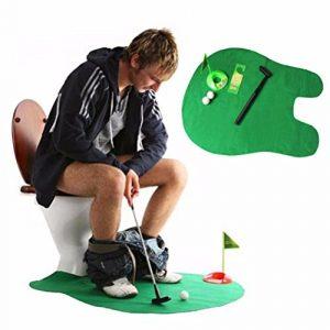 Super-bab temps de toilettes Jeu de mini Golf pour adulte enfants Funny donnant Cadeau jouet Trainer Lot