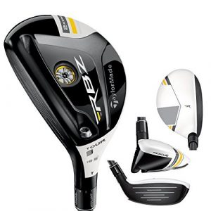 TaylorMade Men's Rocketballz Stage 2 Tour Rescue, Left Hand, Graphite, Stiff, 3 by TaylorMade
