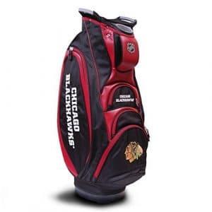 Team Golf NHL Chicago Blackhawks Cart Bag, Multicolor by Sportsman Supply Inc.