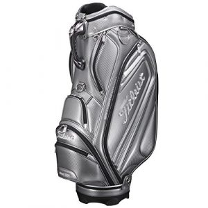 Titleist CB612 Golf Caddie Cart Bag Silver 9.5 4-Ways 4.9kg Caddy 2016 by Titlist