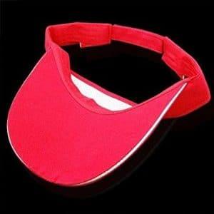 TOOGOO(R) Casquette sans cime de tennis ou de golf Rouge