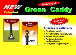 Vert Caddy / Golf Ball Picker