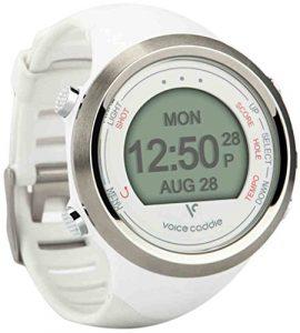 Voice Caddie T1 Montre GPS pour golf, T1 GPS, Blanc, n/a