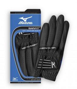 2014Femme Mizuno rainfit nassen Météo Golf Gants main gauche pour les gauchers golfeur, Noir