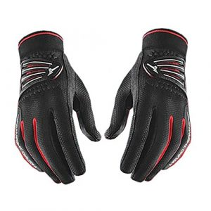 2015 Mizuno ThermaGrip Mens Winter Playing Golf Windproof/Thermal Gloves -PAIR Black Large