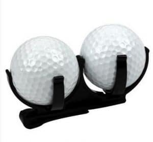 3C Top Noir en PP clip support pour balle de golf Golf accessoire de golf Outil