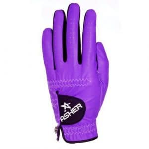 Asher Women's Chuck Left Hand Glove, Purple, Medium by Asher Gloves