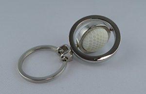 Balle de golf porte-clés dans un design élégant