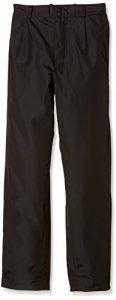 Boy's Ultralite Europa ProQuip Aquastorm Pantalon imperméable noir Noir 11-12 ans