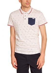 CBK 550153 Polo Homme Ecru Chine FR : S (Taille Fabricant : S)