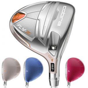 Cobra flyz bois de parcours de golf pour femme Droitier couleur argent, # 7–9(23°-26°), Ladies Flex