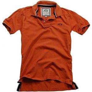 Cox Swain Vintage Polo Shirt T-Shirt, Colour: Orange, Size: M