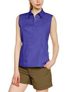 Damartsport 319280201 Chemisier sans manches Femme Violet FR : S (Taille Fabricant : 38)